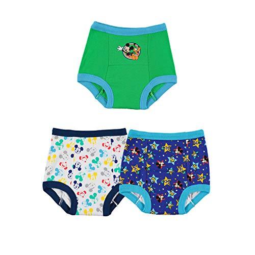 Disney Mickey Mouse 3pk Potty Training Pant baby-jongens Baby en Peuter Potty Training Ondergoed (3-Pack)