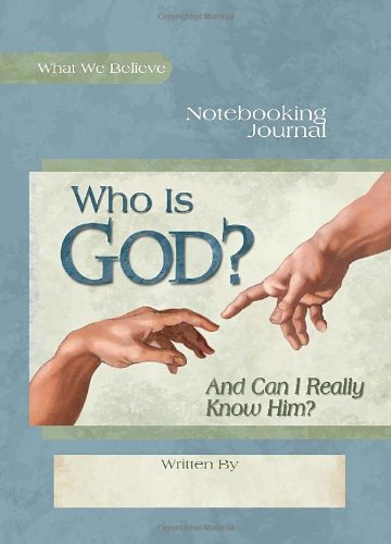 Who Notebooking Journal What Believe product image