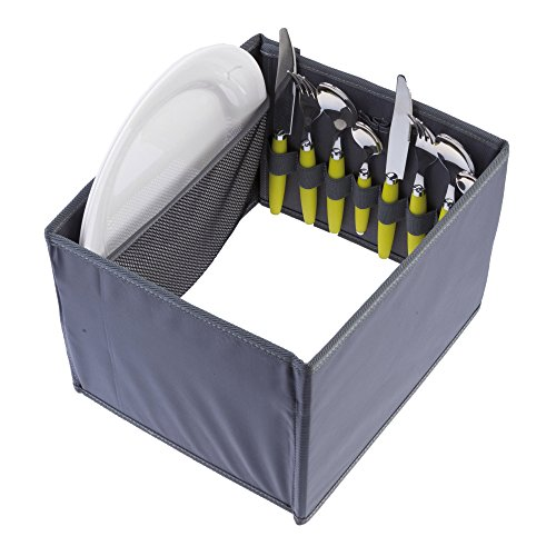 meori Picnicker Insert, Keep Picnic Essentials Organized And In Place, Fits meori Small, Large & Outdoor Foldable Boxes