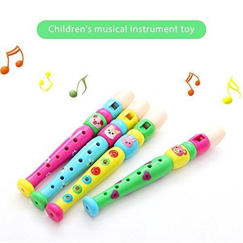 NiceButy B/éb/é Enfants Musical /éducatifs Jouets Premiers Enfants Piccolo Fl/ûte Instrument de Musique No/ël Cadeaux Couleur Al/éatoire 1 Pc Jouet pour No/ël Toussaint