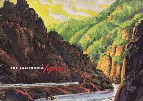 (The California Zephyr: 1949 Promotional Book)