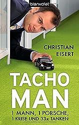 Tacho-Man: 1 Mann, 1 Porsche, 1 Krise und 33 x Tanken
