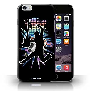 KOBALT? Protective Hard Back Phone Case / Samsung Galaxy Note4 +/Plus 5.5   Leap/Jump Black Design   Rock Star Pose Collection WANGJING JINDA