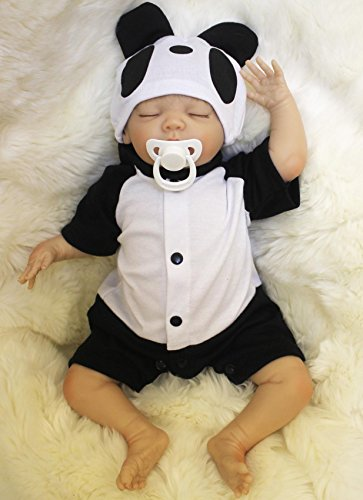 Wamdoll 18 inch Rare Alive Sleepy Silicone Reborn Baby Dolls Feel Real,May God Bless You -