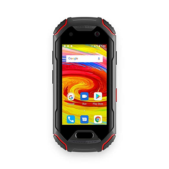 Unihertz Atom, The Smallest 4G Rugged Smartphone in The World, Android 8 1  Oreo Unlocked Smart Phone with 4GB RAM and 64GB ROM