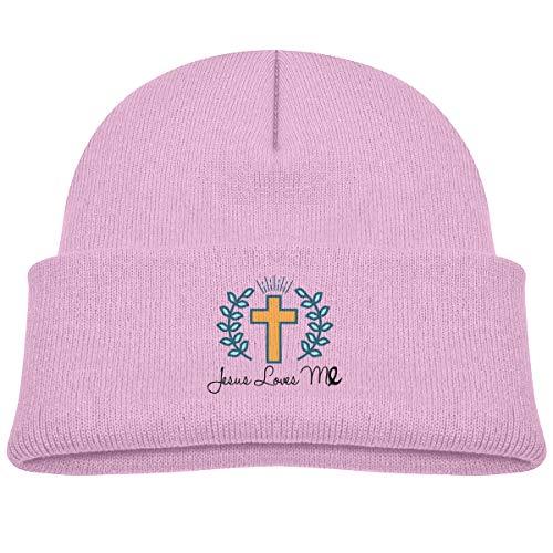 Banana King Jesus Loves Me Baby Beanie Hat