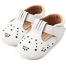 Hot Sale!Summer Sandals 2018,Todaies Baby Girl Princess Leather Shoes Hollow Out Fashion Toddler First Walkers Kid Shoes 2018 (US:2.5, White)