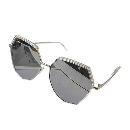 Gafas de Sol de Espejo Mujer Gafas UV400, Gafas de Sol Retro ...