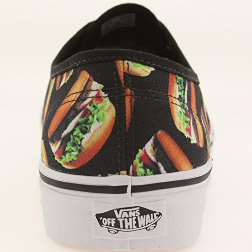 Vans Authentisch (Late Night) Schwarz / Hamburger