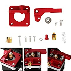 Aluminum Frame MK8 Extruder Upgrade Kit For Creality 3D Printer CR-10/10S SeriesDescription: The improved MK8 extruder has a filament guide tube, all screws, spare drive gear and upgraded Bowden pipe connector for cr-10 3D printers. Our desi...