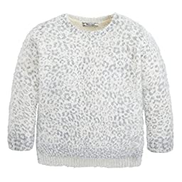 Mayoral Girl\'s Cheetah Print Sweater, Sizes 4-9 (5)