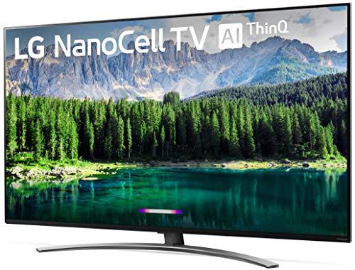 LG 49SM8600PUA Nano 8 Series 49 4K Ultra HD Smart LED NanoCell TV (2019), Black