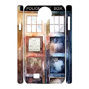 New Print 3D DIY Phone Case for SamSung Galaxy S4 I9500 - Doctor Who Personalized Cover Case JZQ-906177