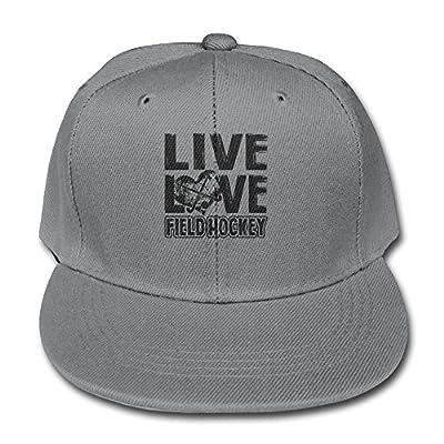 Solid Color Baseball Caps Trucker Hat Live Love Field Hockey Boy-Girls