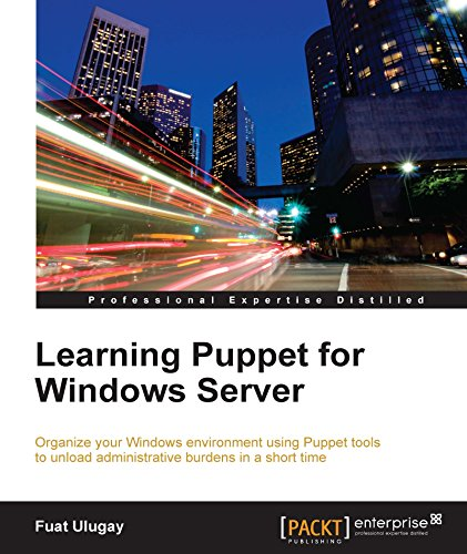Learning Puppet for Windows Server Pdf