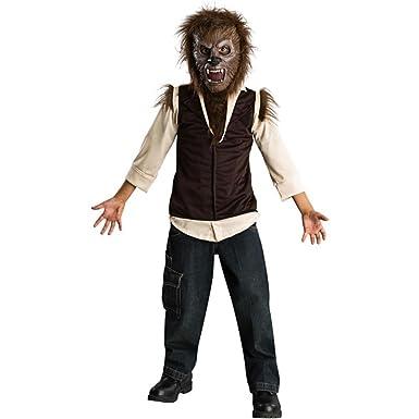 Amazon.com: Del niño The Wolfman traje (Tamaño: Medio 8 – 10 ...