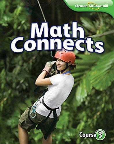 Math Connects, Course 3 Student Edition (MATH APPLIC & CONN CRSE)