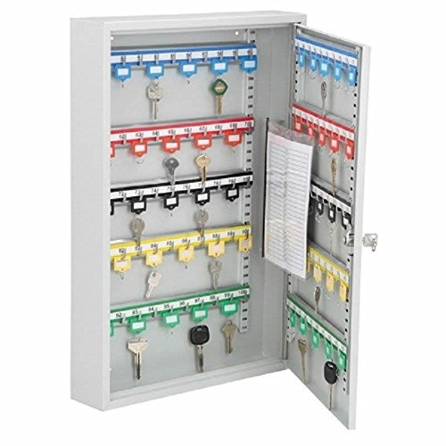 100 Key Wall Hanging Storage Cabinet Organizer Rack Holder Lock Case Key Rack by Generic