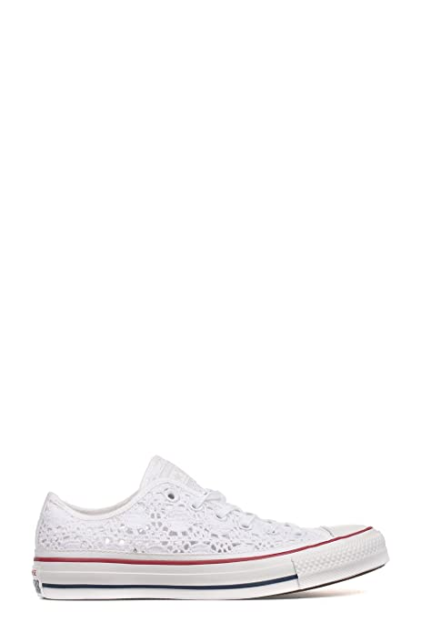 CONVERSE SNEAKERS DONNA 549314C CANAPA BIANCO