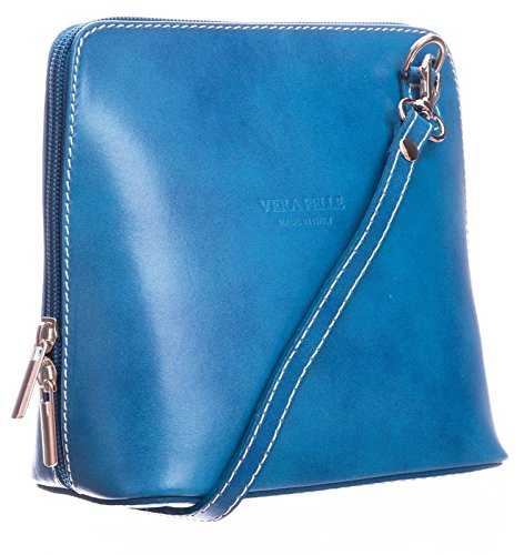 Saile's - Cross Leather Bag Royal Blue Woman