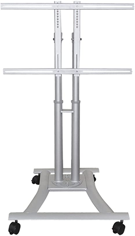 Newstar Plasma M1200 Mobile Monitor Tv Floor Stand For 27 70 Screen Height Adjustable Silver Amazon Co Uk Computers Accessories