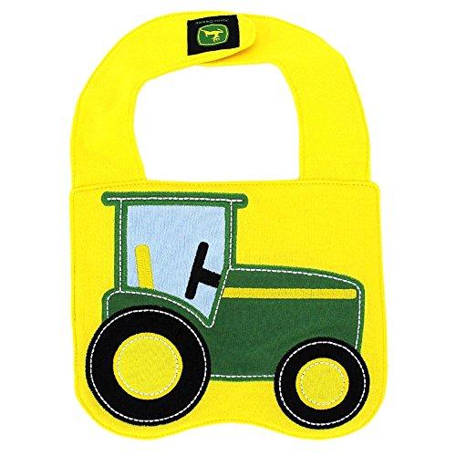 John Deere Baby Tractor Bib- One Size
