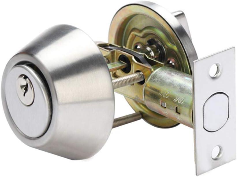 Cerraduras de las perillas de las puertas, pomo de la puerta interior de privacidad con 3 llaves y cerrojos, juego de cerraduras de las perillas de las puertas de entrada con llave vintage