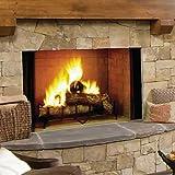 Rocky Mountain Goods Long Fireplace Poker - Rust