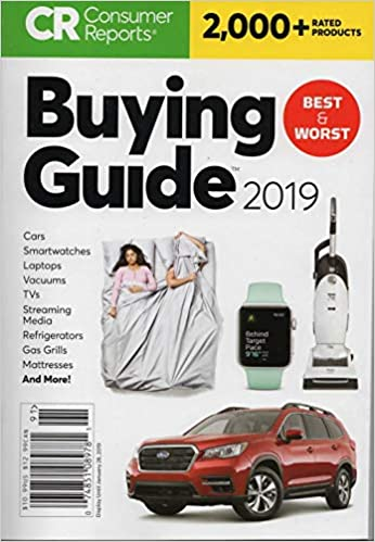 Consumer Reports Best Cars 2019 Consumer Reports Buying Guide For 2019 Rates 2000+ Products