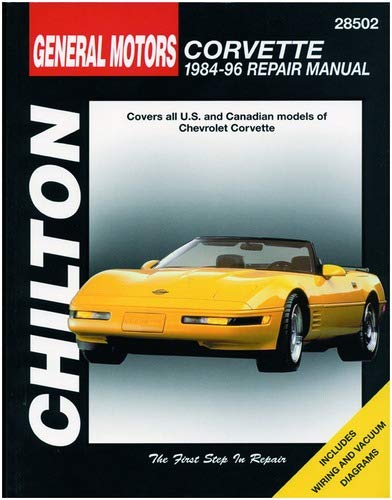 chilton 2001 corvette service manual