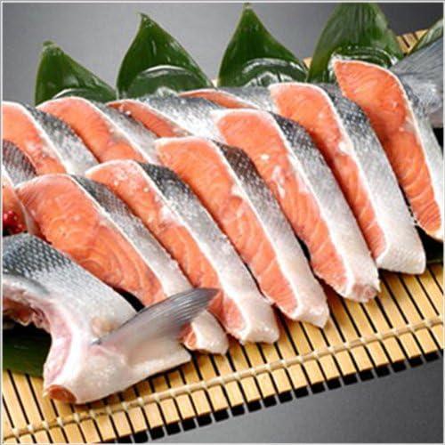 サーモン専門店岩松 天然紅鮭 半身10~12切