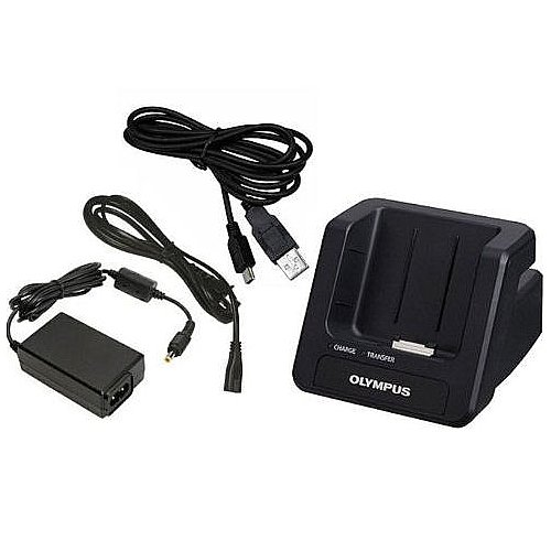 Olympus ACCESSORYSKIT (Cradle, Power Adapter & USB Cable ) for DS-7000 & DS-3500 by Olympus
