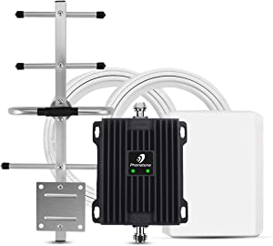 Signal Booster for Home and Office Up to 5,000 Sq Ft | Boost 4G LTE Data for Verizon and AT&T | …