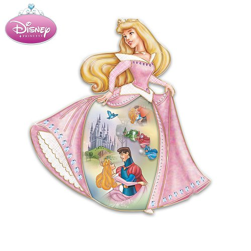 Disney Sleeping Beauty Collectible Wall Decor Collector Plate by The Bradford Exchange