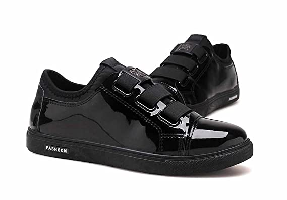 GLSHI Con In Velcro 2018 Piatte Scarpe Moda Uomini Scarpe Skate Da fxnrfH
