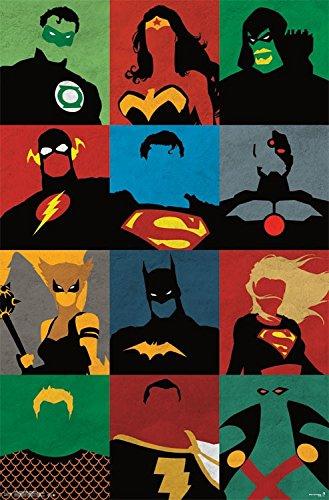 Trends International Justice League Minimalist Wall Poster 5