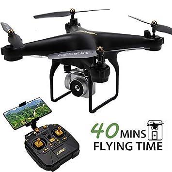 Amazoncom Jjrc H68 Rc Drone 40mins Longer Flight Time Quadcopter