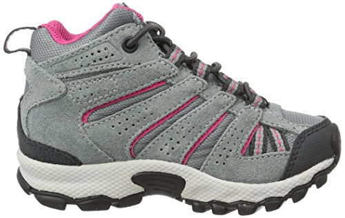 Columbia Childrens North Plains MID Waterproof Hiking Boot Grey Ash/Ultra Pink 11 M US Little Kid by Columbia (Image #6)