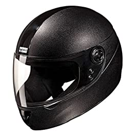 Studds Chrome Elite Full Face Helmet (Black, L)