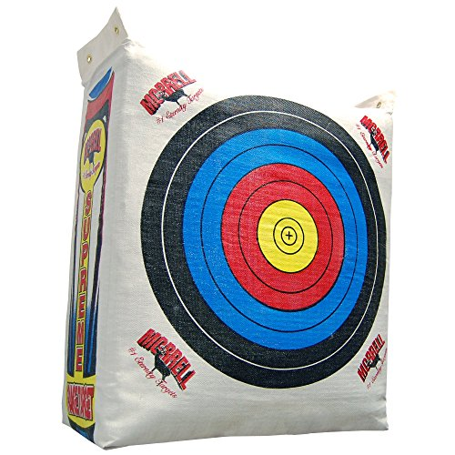 Morrell Supreme Range Field Point Bag Archery Target - for Adult Bows with NASP Scoring Rings (Large Archery Bag Target)