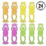 Frogs, 24 PCS Safe Stretchable Gel Creative Tricky