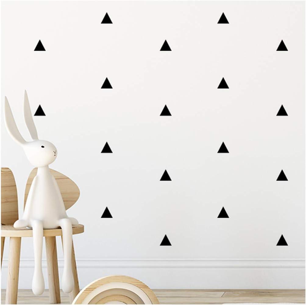 Arizona Black Triangle Room Stickers - calcomanías de arte de pared para niños niñas guardería, dormitorio, sala de estar pegatina de habitación triángulo negro