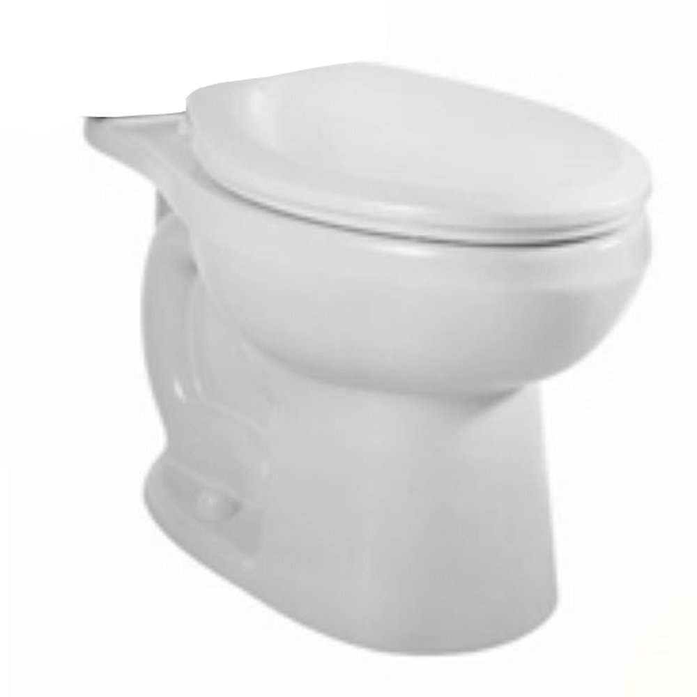 American Standard 3707.216.020 H2Option Right-Height Round Front Siphon Dual Flush Bowl, White