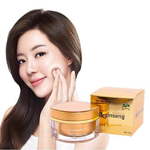 02 Boxes30gram Cream SMARTCOS SKginseng - Ngoc Linh ginseng cream - Kem d??ng da sâm Ng?c Linh 51tWX2BYzu6L