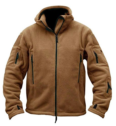 - VADOLY Winter Military Jackets Warm Men Tactical Jacket Thermal Hooded Coat Outerwear