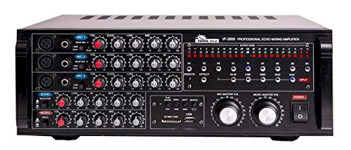 Karaoke Mixing Amplifier Amp - IDOLpro 1300W Professional Karaoke Digital Echo Mixing Amplifier