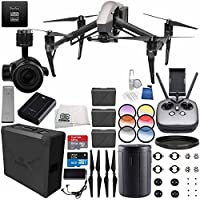 DJI Inspire 2 Premium Combo with Zenmuse X5S and CinemaDNG and Apple ProRes Licenses Videographer 120G PRO Essential Bundle