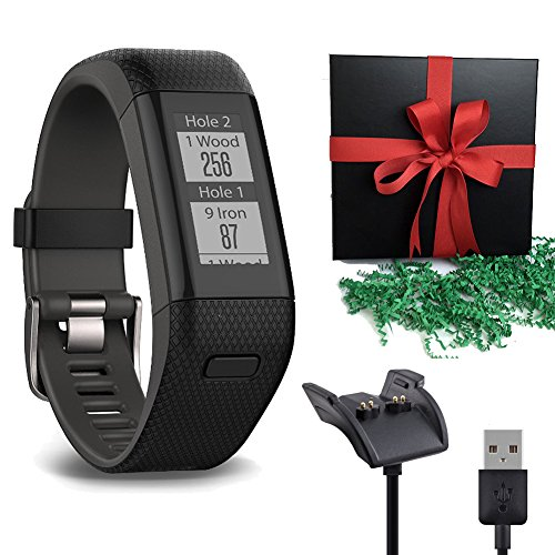 Dynamic Gold Lite Steel Iron (Gift Package: Garmin Golf GPS Watch Approach X40, Black/Gray Band + 1 USB Charging/Data Cable)