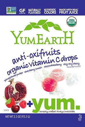 YumEarth - Caramelos Orgánicos de Frutas sabores Frutos Rojos - 30 unidades: Amazon.es: Alimentación y bebidas