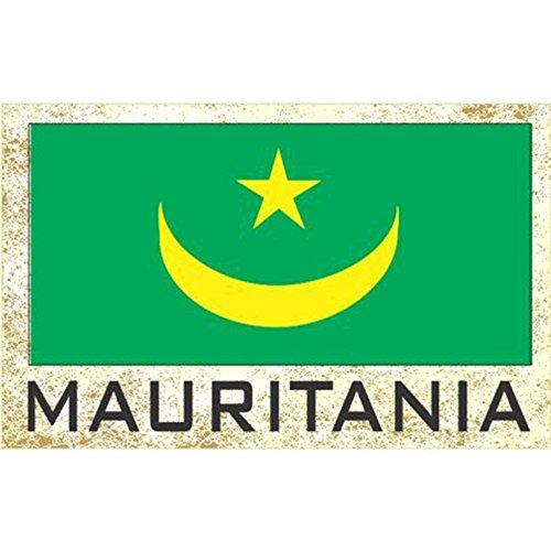 Flag Fridge Refrigerator Magnets – Asia & Africa Group 3 (Country: Mauritania)